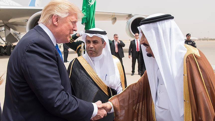 Donald Trump Suudi Kral Selman'dan Petrol Arttırma İsteğinde Bulundu